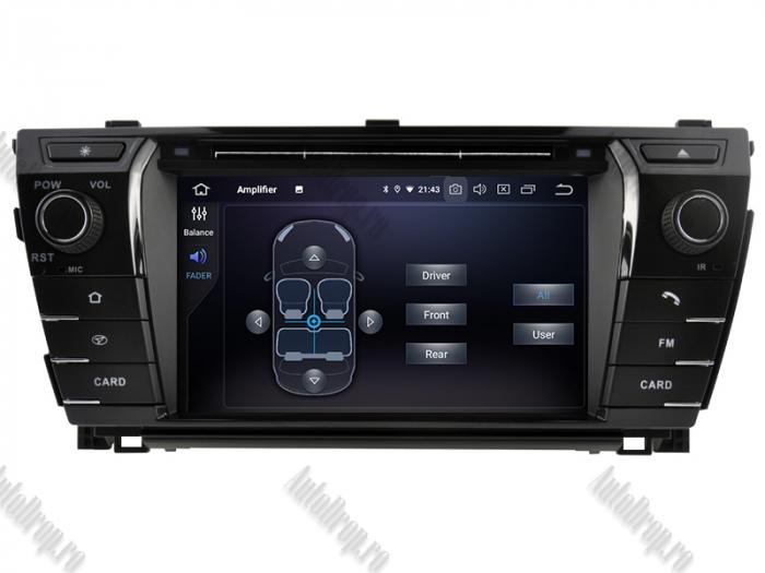 Navigatie Dedicata Toyota Corolla 2014 PX5 | AutoDrop.ro 6