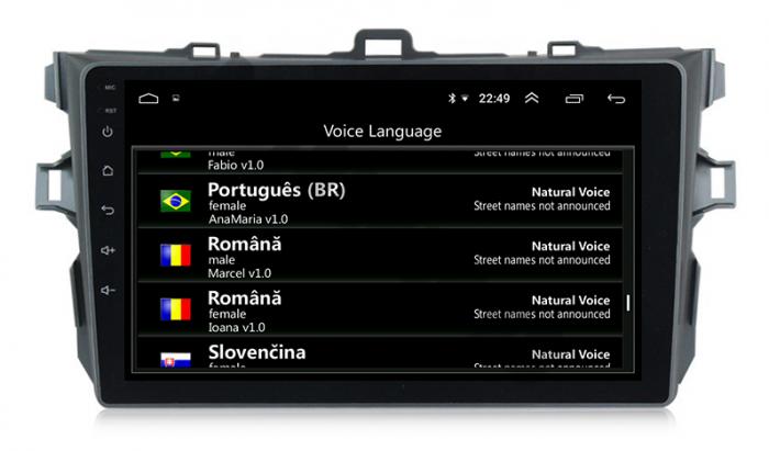 Navigatie Android Toyota Corolla 1+16GB | AutoDrop.ro [9]