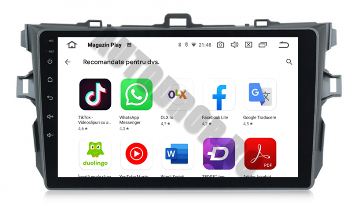 Navigatie Android Toyota Corolla 1+16GB | AutoDrop.ro [6]