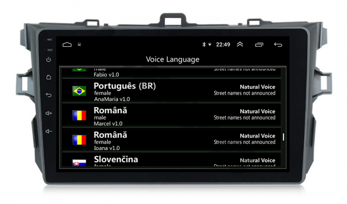 Navigatie Android Toyota Corolla 2+32GB   AutoDrop.ro 14