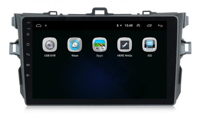 Navigatie Android Toyota Corolla 2+32GB   AutoDrop.ro 4