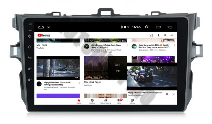 Navigatie Android Toyota Corolla 2+32GB   AutoDrop.ro 16