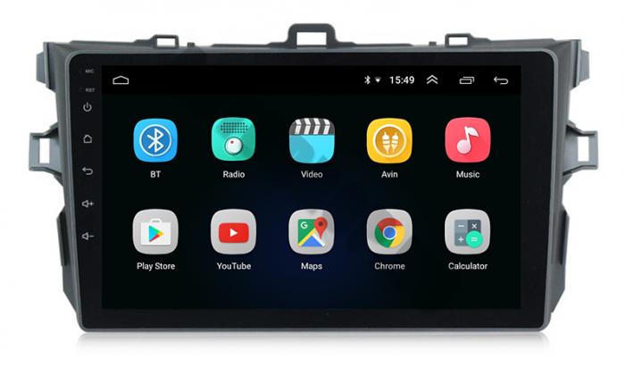 Navigatie Android Toyota Corolla 2+32GB   AutoDrop.ro 2