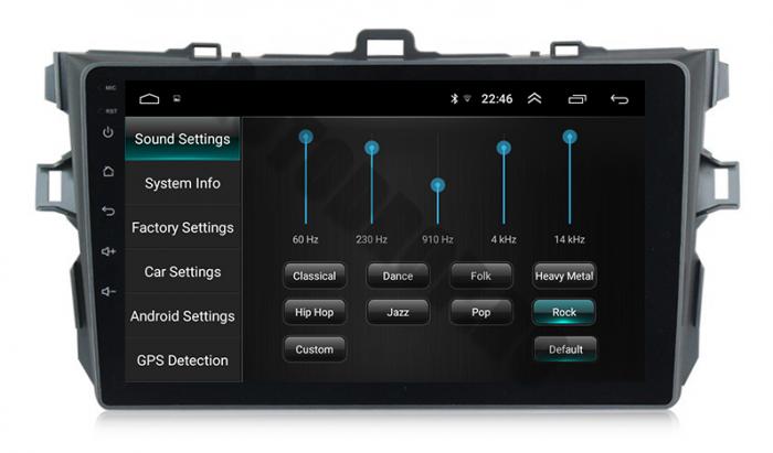 Navigatie Android Toyota Corolla 2+32GB   AutoDrop.ro 13