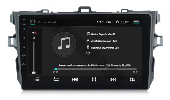 Navigatie Android Toyota Corolla 2+32GB   AutoDrop.ro 5