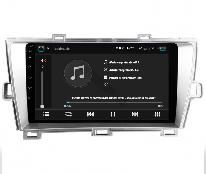 Navigatie Toyota Prius Android | AutoDrop.ro [12]