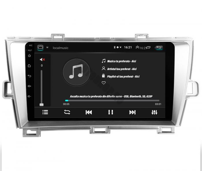 Navigatie Toyota Prius Android 2+32GB | AutoDrop.ro 12