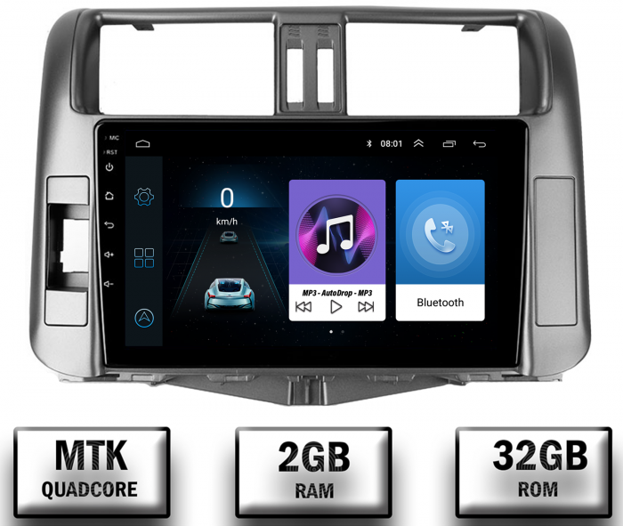 Navigatie Toyota Land Cruiser 2+32GB | AutoDrop.ro 0