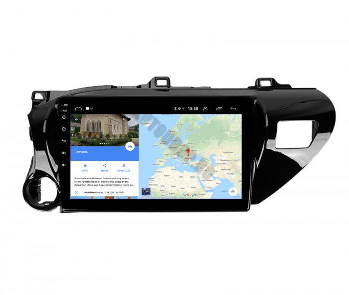 Navigatie Toyota Hilux 2015+ | AutoDrop.ro 11