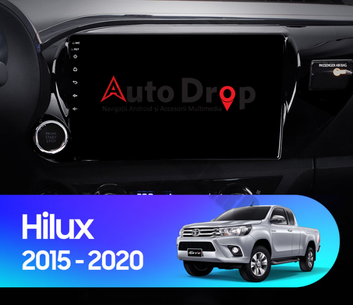 Navigatie Toyota Hilux (2015+) 2+32GB | AutoDrop.ro 16