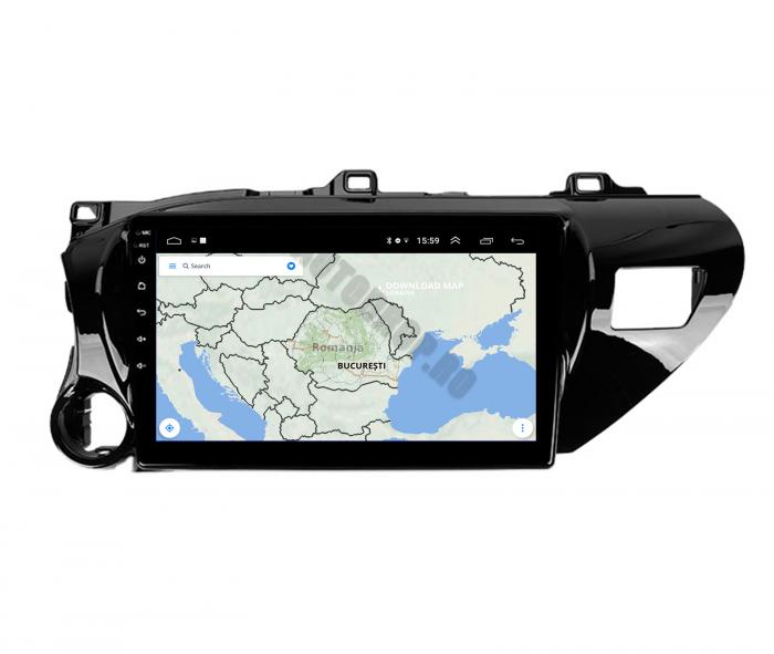 Navigatie Toyota Hilux (2015+) 2+32GB | AutoDrop.ro 12