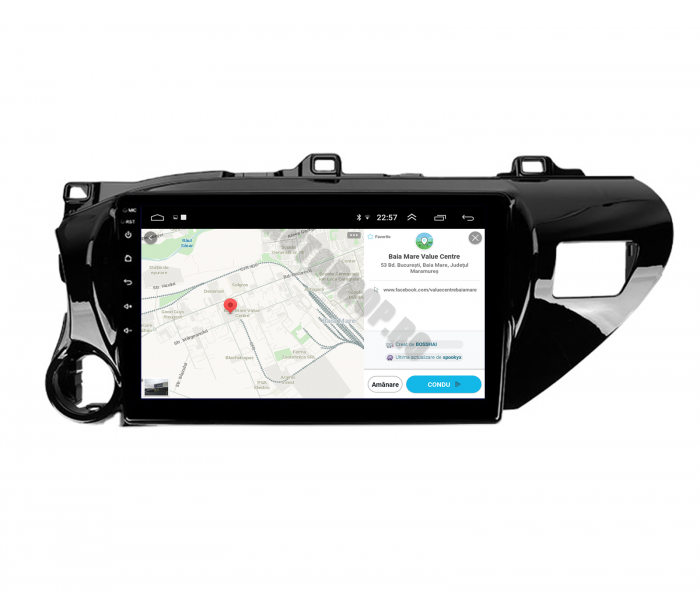 Navigatie Toyota Hilux 2015+ | AutoDrop.ro 9