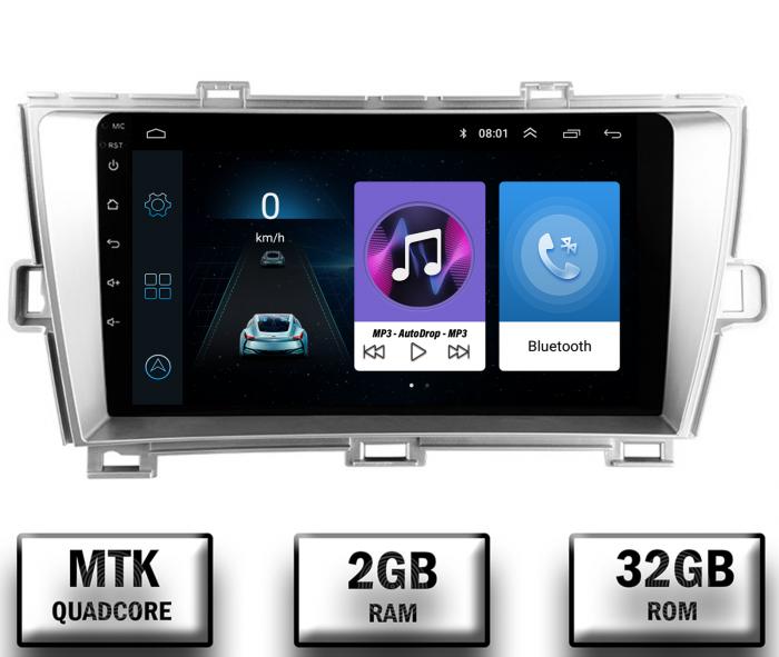 Navigatie Toyota Prius Android 2+32GB | AutoDrop.ro 0