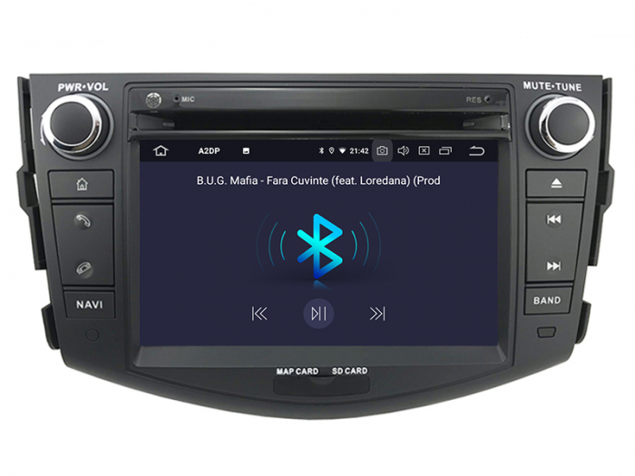 Navigatei Dedicata Toyota RAV4 cu Android - AD-BGWRAV7P3 5