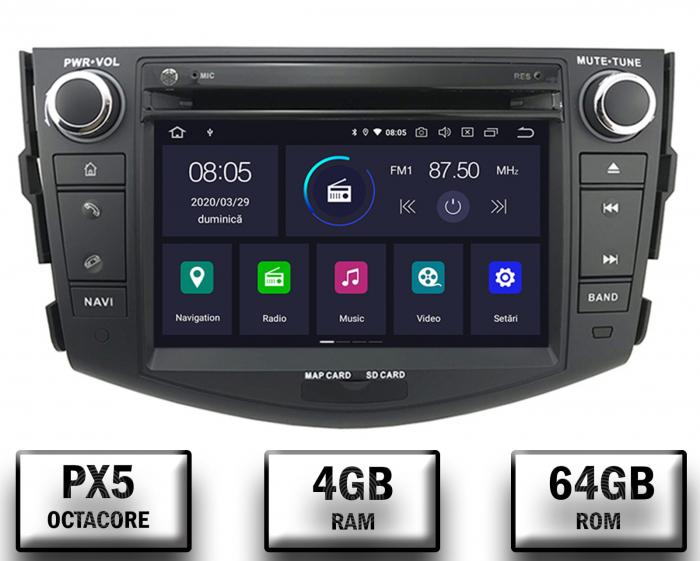 Navigatei Dedicata Toyota RAV4 cu Android - AD-BGWRAV7P3 0