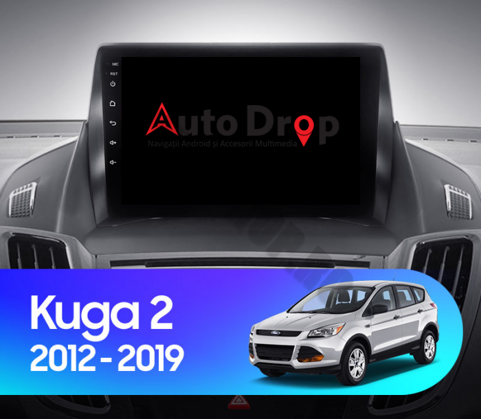 Navigatie Android Ford Kuga 2013-2018 | AutoDrop.ro 19