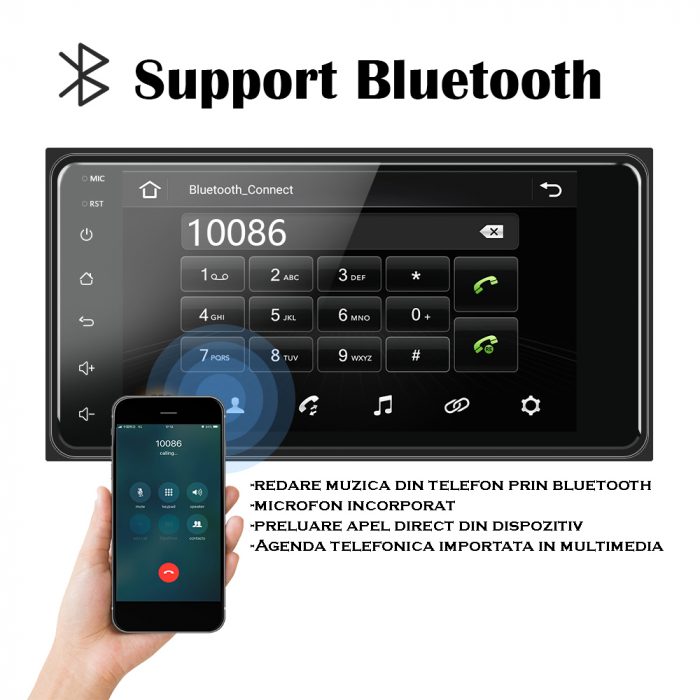 Navigatie Toyota RAV4, Hilux, Corolla Android   AutoDrop.ro 13