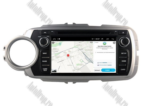 Navigatie Dedicata Toyota Yaris 2012-2016 4+64GB 14
