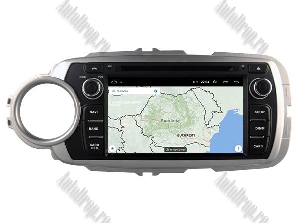 Navigatie Dedicata Toyota Yaris 2012-2016 4+64GB 13