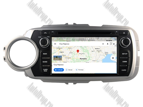 Navigatie Dedicata Toyota Yaris 2012-2016 4+64GB 15