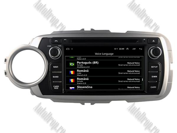 Navigatie Dedicata Toyota Yaris 2012-2016 4+64GB 12