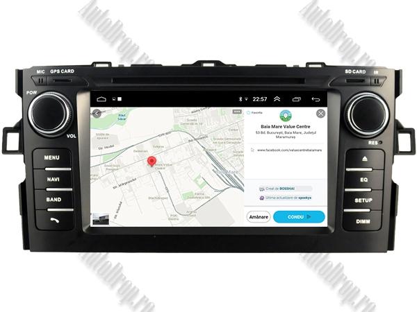 Navigatie Dedicata Toyota Auris 2007-2011 4+64GB 13