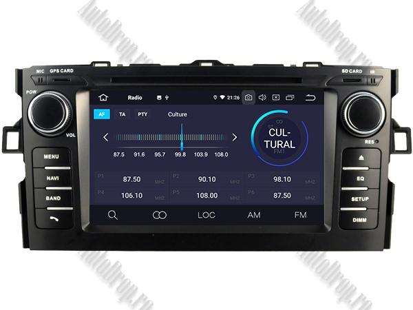 Navigatie Dedicata Toyota Auris 2007-2011 4+64GB 3