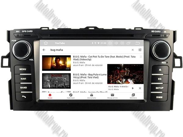 Navigatie Dedicata Toyota Auris 2007-2011 4+64GB 9