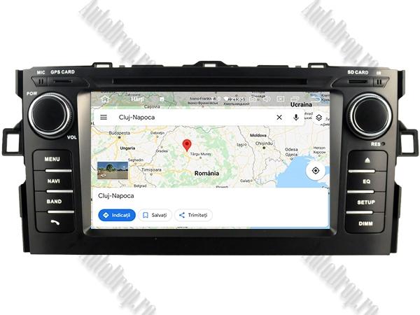 Navigatie Dedicata Toyota Auris 2007-2011 4+64GB 11