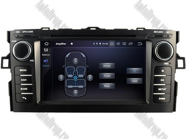 Navigatie Dedicata Toyota Auris 2007-2011 4+64GB 6