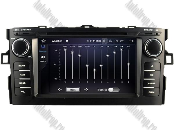 Navigatie Dedicata Toyota Auris 2007-2011 4+64GB 5