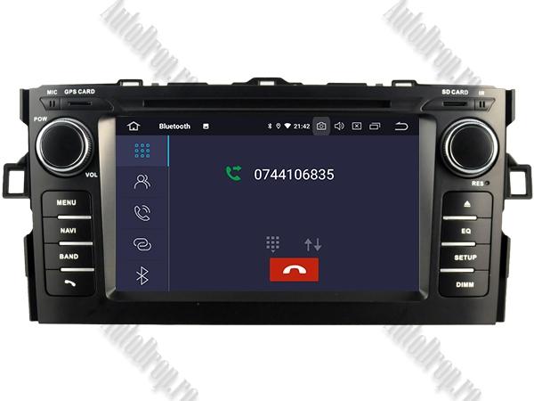 Navigatie Dedicata Toyota Auris 2007-2011 4+64GB 4