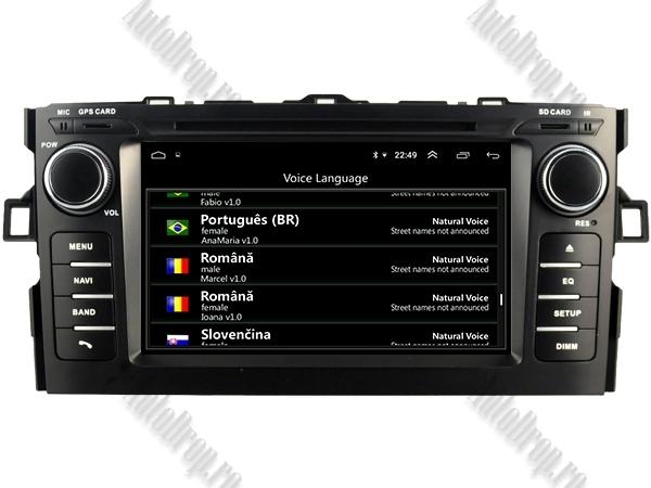Navigatie Dedicata Toyota Auris 2007-2011 4+64GB 7