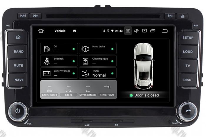 Navigatie Volkswagen Octacore 4GB Ram - AD-BGWVW7P5 [11]