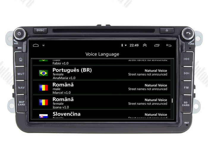 Pachet Navigatie Skoda Octavia 2 FL 4+64GB | AutoDrop.ro 7
