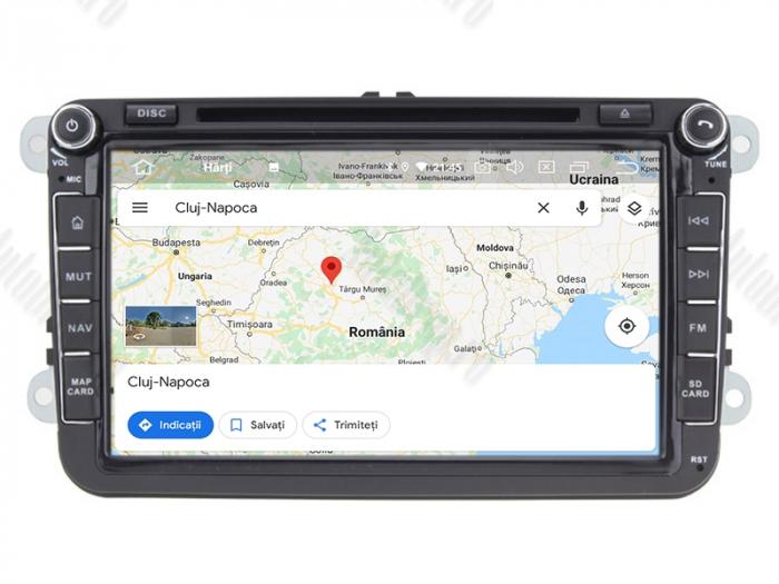 Pachet Navigatie Skoda Octavia 2 FL 4+64GB | AutoDrop.ro 12