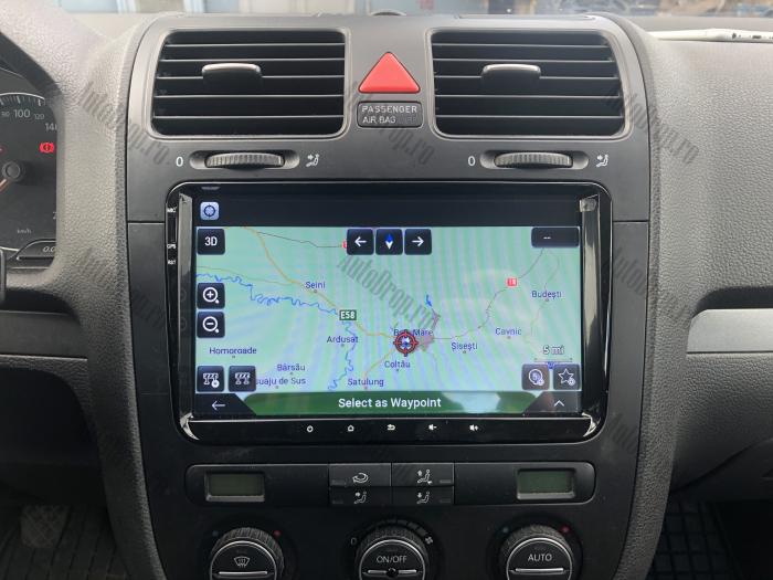 Navigatie Auto Volkswagen de 9 Inch AD-BGWVW9P3 28