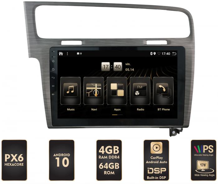Navigatie Android 10 Volkswagen Golf 7 | AutoDrop.ro [0]