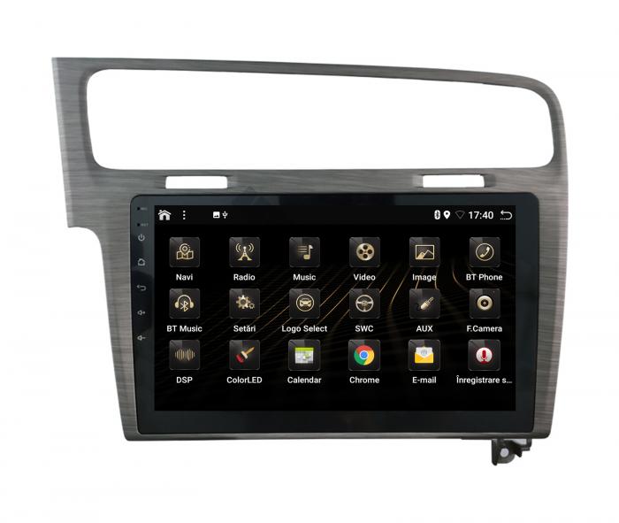 Navigatie Android 10 Volkswagen Golf 7 | AutoDrop.ro [4]