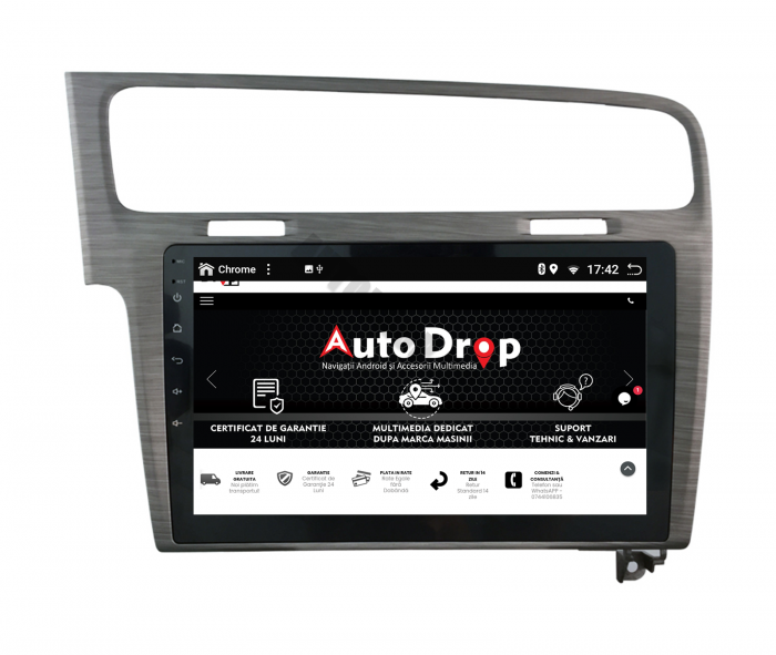 Navigatie Android 10 Volkswagen Golf 7 | AutoDrop.ro [8]