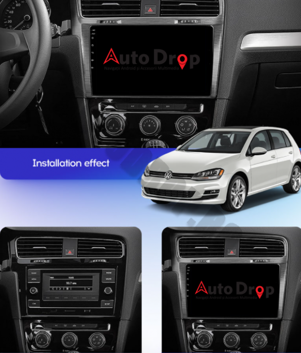 Navigatie Android VW Golf 7 Android   AutoDrop.ro [17]