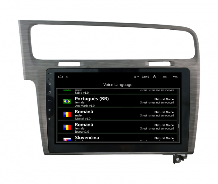 Navigatie Android VW Golf 7 Android   AutoDrop.ro [14]