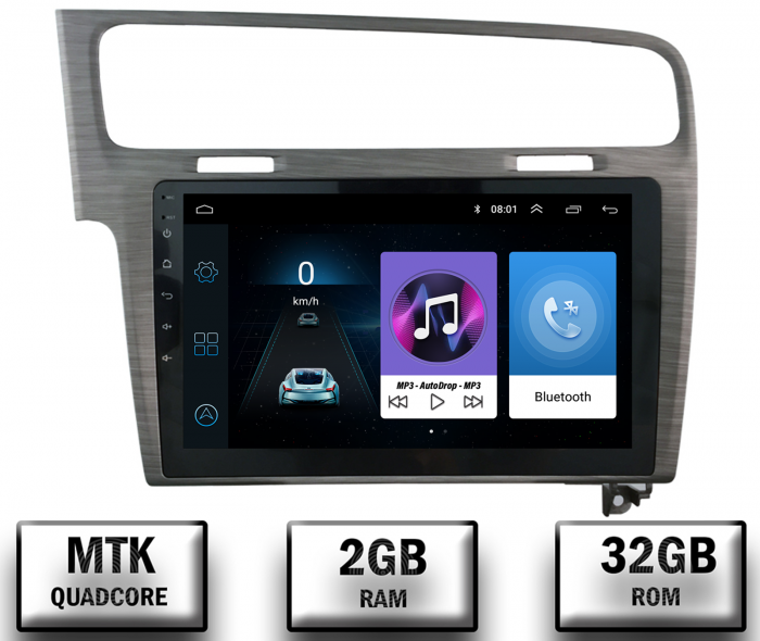 Navigatie Android VW Golf 7 Android 2GB   AutoDrop.ro [0]
