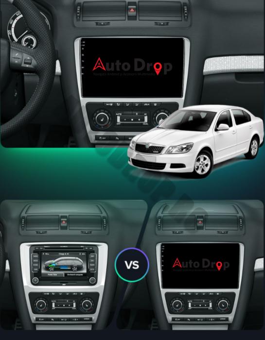 Navigatie Skoda Octavia 2 10Inch Android | AutoDrop.ro 17