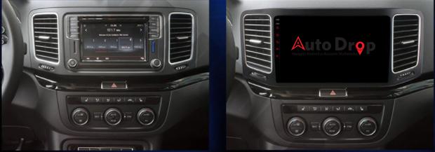 Navigatie Android VW Sharan 2012+ 2GB | AutoDrop.ro 14