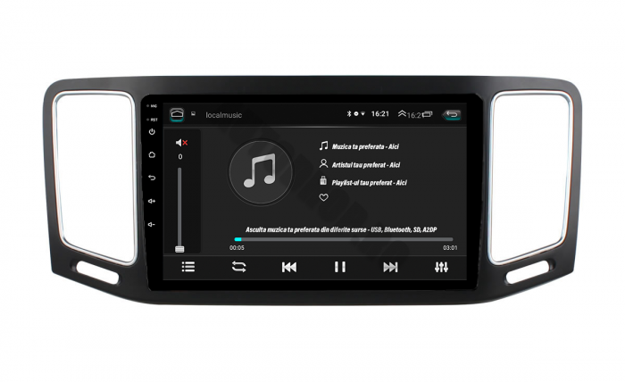 Navigatie Android VW Sharan 2012+ 2GB | AutoDrop.ro 4