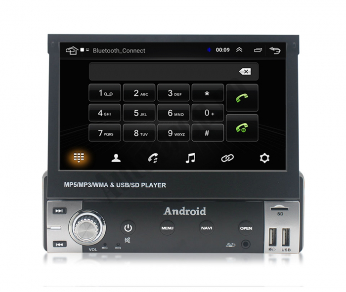 Navigatie Android 1DIN cu Ecran Retractabil | AutoDrop.ro [13]