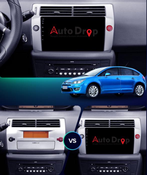 Navigatie Android Citroen C4 2+32GB | AutoDrop.ro 14