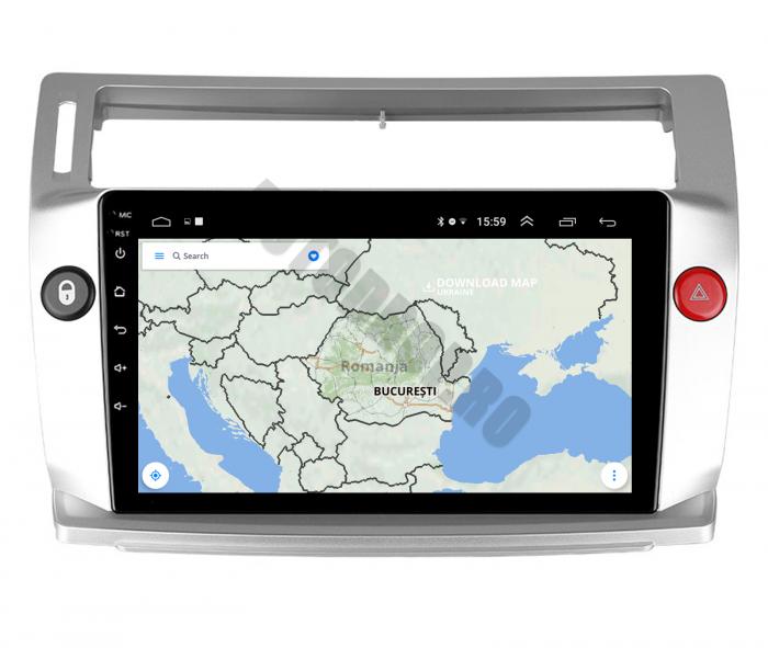 Navigatie Android Citroen C4 2+32GB | AutoDrop.ro 11