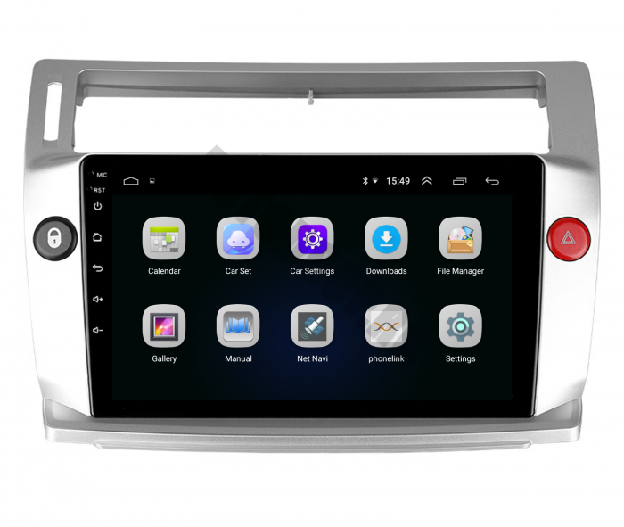 Navigatie Android Citroen C4 2+32GB | AutoDrop.ro 4